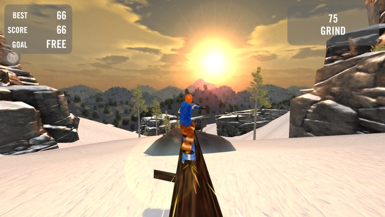 Crazy Snowboard Free screenshot-2