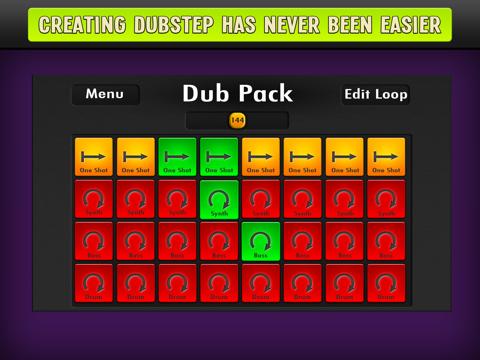 Dubstep Dubpad 2 -  Electronic Music Sampler-ipad-0
