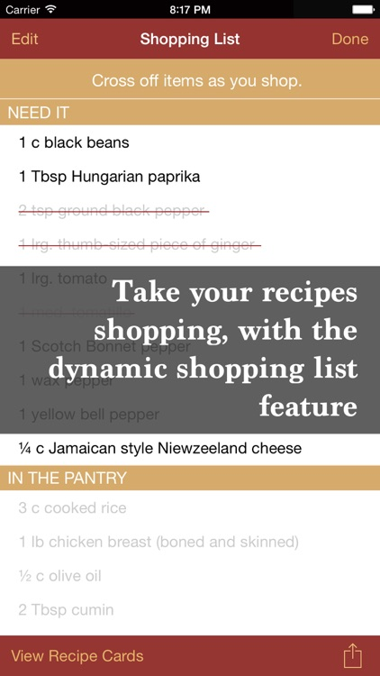 The Recipe Box To Go — Your Pocket, Your Recipes screenshot-4