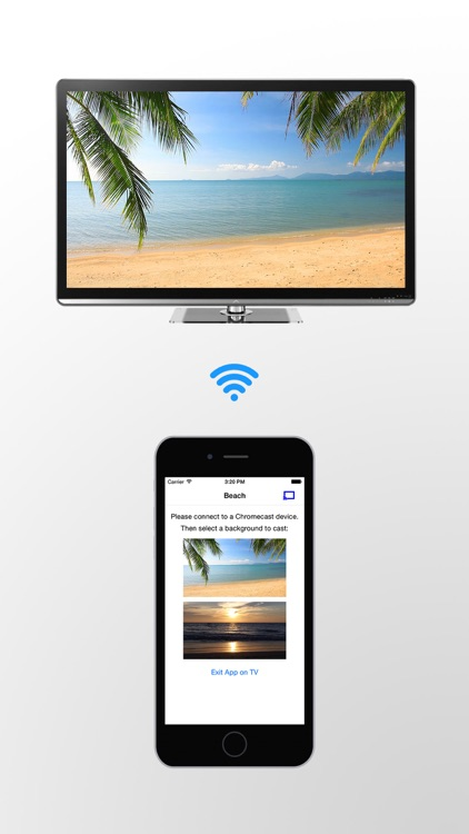 Beaches on TV for Chromecast