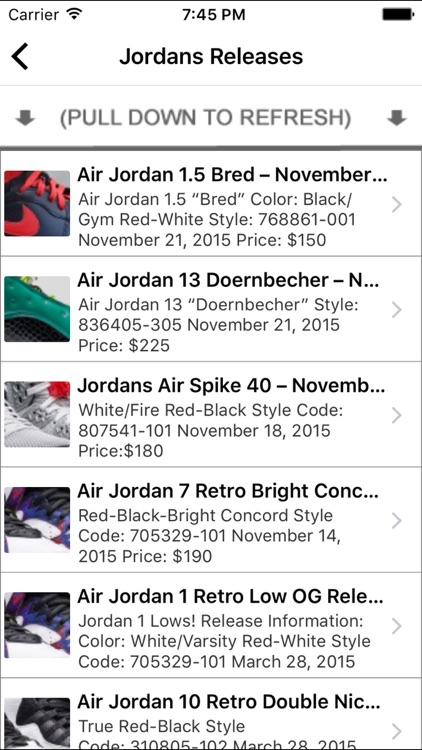 Jordans Out - Release Dates & Trivia 2016 Edition screenshot-3