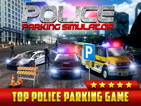 Real Life Driving Games >> Police Car Parking Simulator Game Real Life Emergency