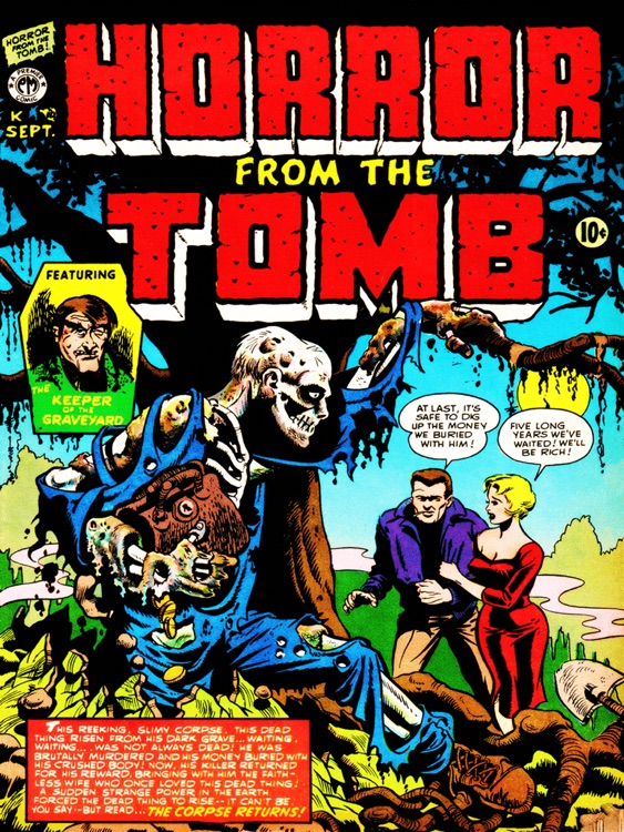 Horror from the Tomb - Back to the Comic