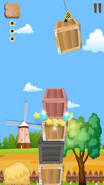 Box tower-the balance mania