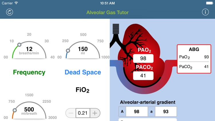 Alveolar Gas Tutor