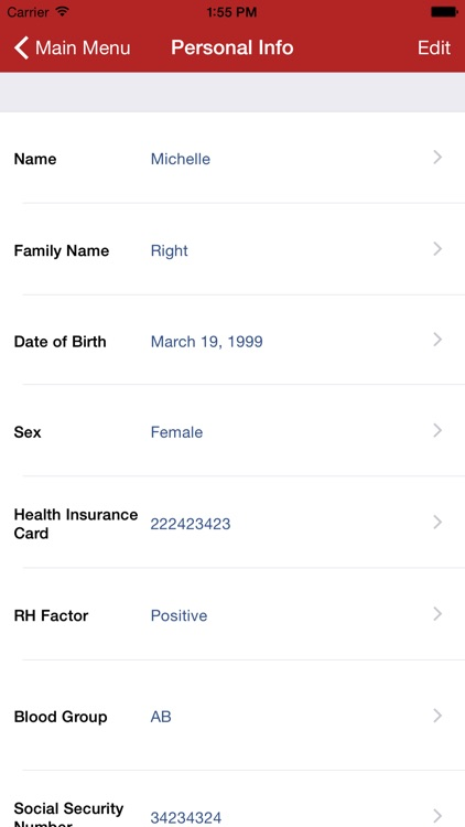 Family Medical History screenshot-2