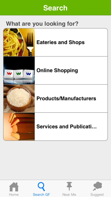Gluten Free Eating Directory 1.5 screenshot-1