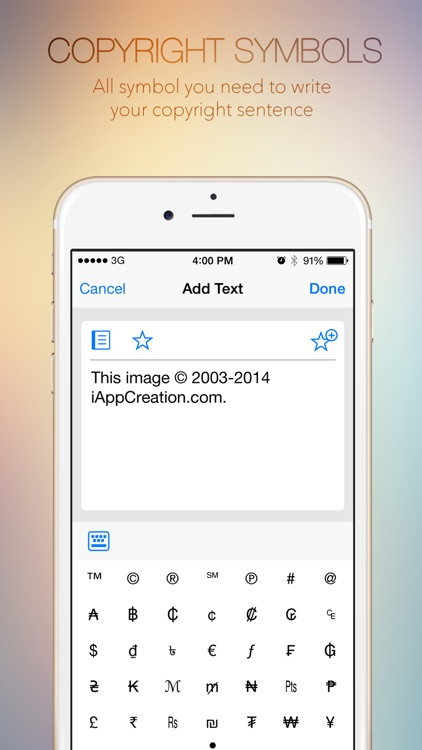 Watermark Photo Square Free - Watermarking Picture App for Instagram