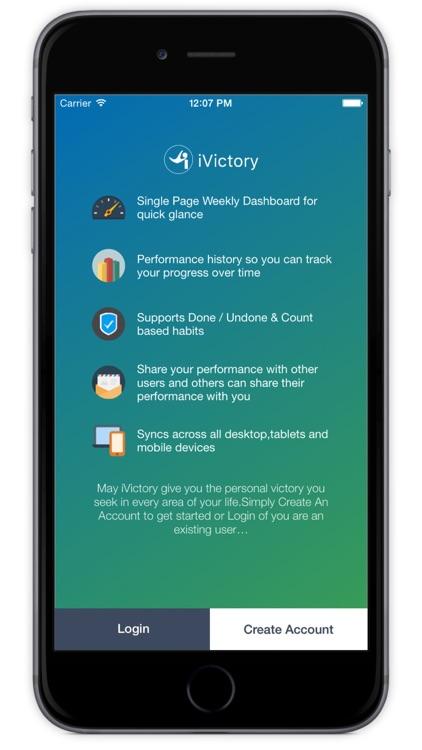 iVictory - Habit Tracker