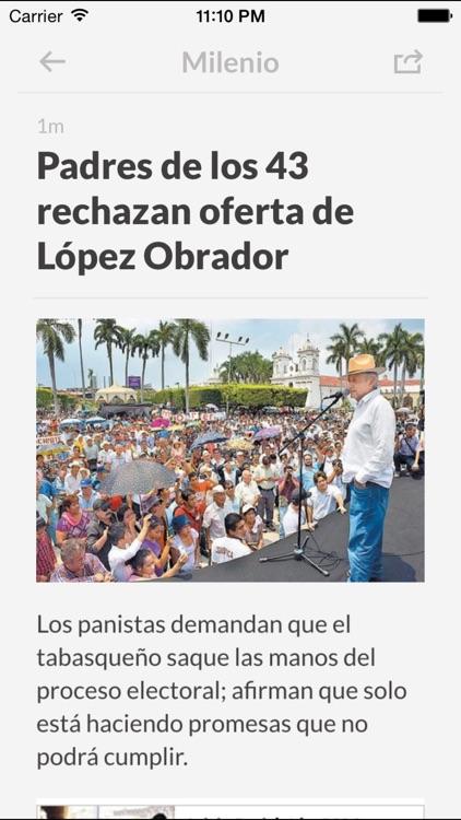 Periódicos MX - Los mejores diarios y noticias de la prensa en México screenshot-3