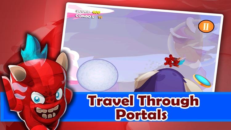 A Devil Boy Battle FREE - Super Interpanetary Portal Jump Dash
