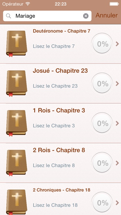 Holy Bible in French - Louis Segond 1910 screenshot-3