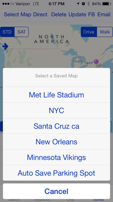 Screenshot of MapItOut: RTP4