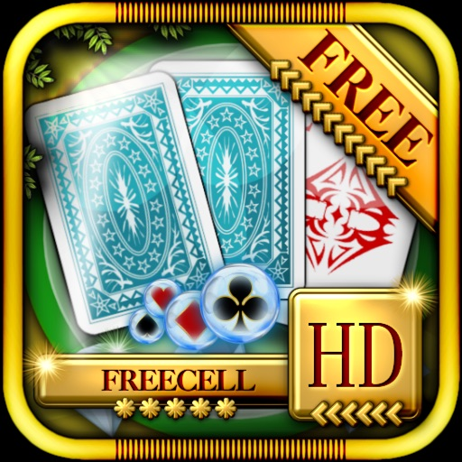 ACC Solitaire [ Freecell ] HD Free - Classic Card Cames for iPad & iPhone