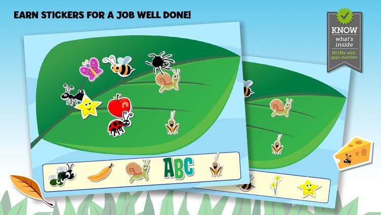 Brainy Bugs' Preschool Games for iPhone screenshot-4
