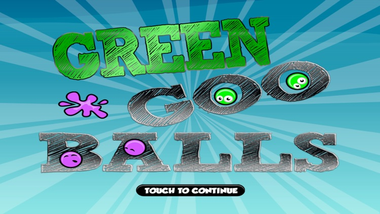 Green Goo Balls In The Bouncing World