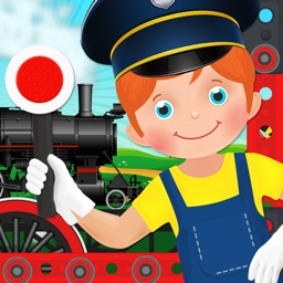 Train Simulator & Maker Games: Fun Free Game for Kids Boys and Girls, Build & Drive Car
