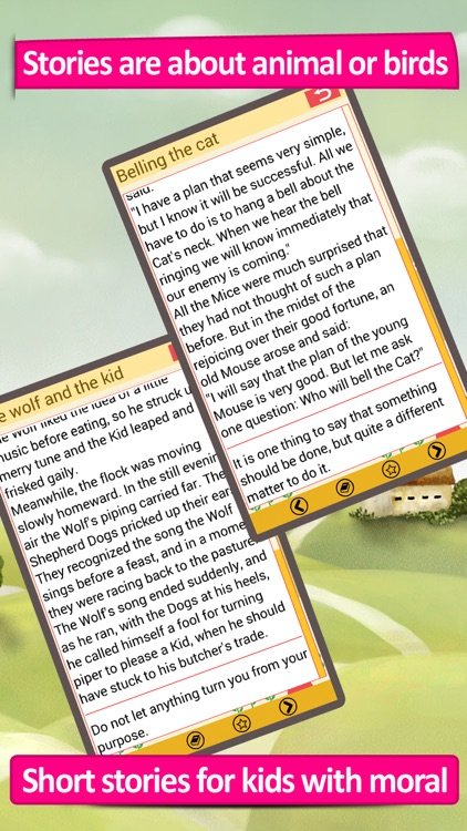 Aesop's Fables, short stories for kids, read to your toddler as bedtime lullaby screenshot-3