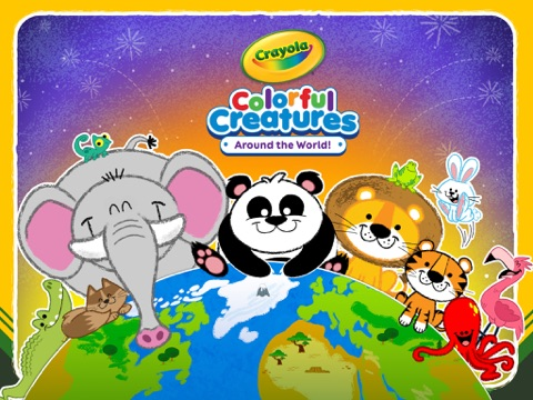 Crayola Colorful Creatures - Around the World!-ipad-0