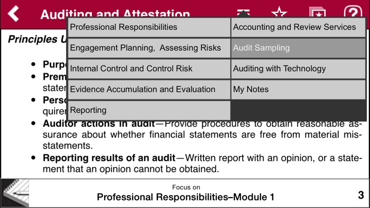 AUD Notes - Wiley CPA Exam Review Focus Notes On-the-Go: Auditing and  Attestation by gWhiz, LLC
