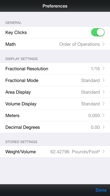 Pipe Trades Pro -- Advanced Feet Inch Fraction and Metric Pipe Trades Math Calculator screenshot-4