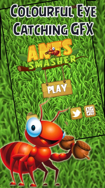 Ant Smasher PRO - Smash all those Pests! by Gold Hydrogen LLC