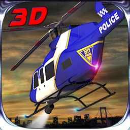 Real City Police Helicopter Simulator 3D