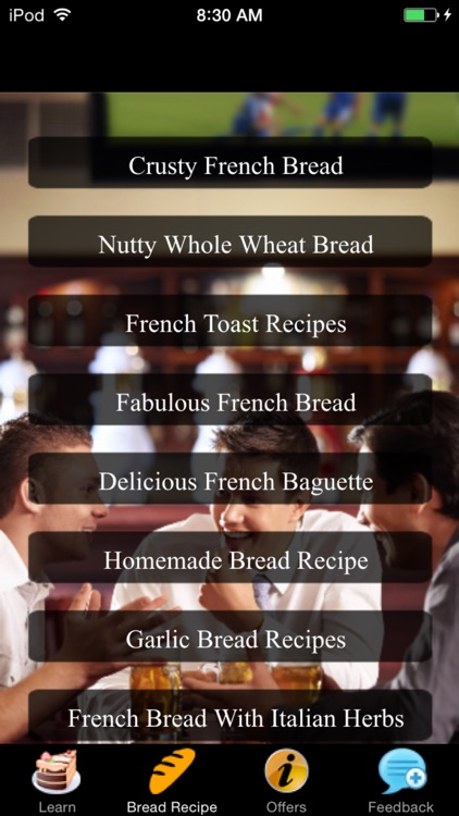 French Bread Recipes - Homemade screenshot-2