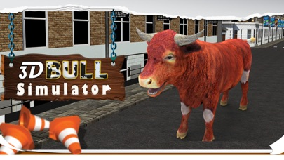 3D Bull Simulator – Angry animal simulator and city destruction simulation game Screenshot on iOS