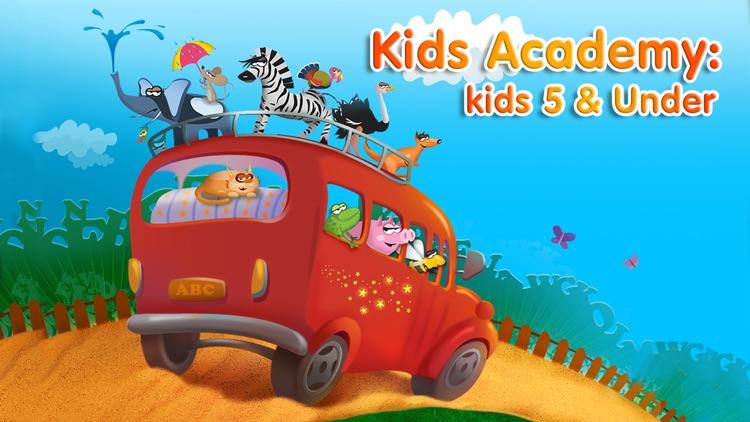 Preschool and Kindergarten learning kids games for toddler HD screenshot-0