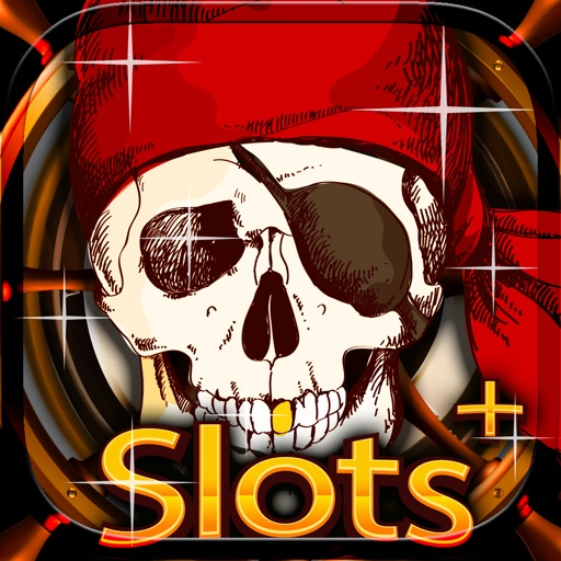 `` Golden Pirate's Treasure Slots PRO `` - Spin the pirate kings wheel to win the caribbean casino