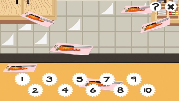 A Kitchen Counting Game for Children: Learning to count with Cooking screenshot-3