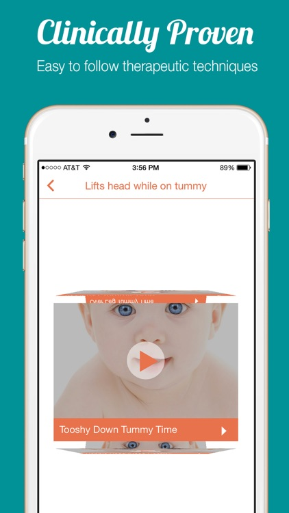Super Baby - Video center for infant development to reach gross motor skills and baby milestones.