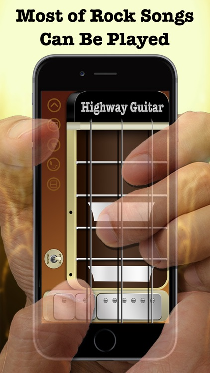Highway Guitar - The Way You Rock (Virtual Electric Real Pocket Guitars Play Songs Like Your Guitar Hero With Chords Solo Easy Music Simulator Game Tools) screenshot-0