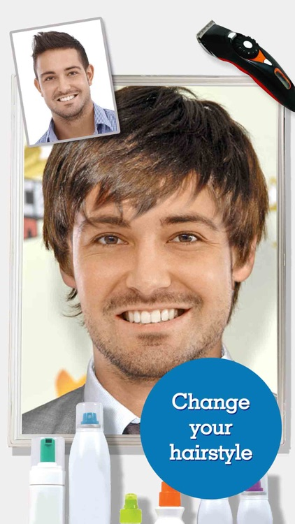 FACEinHOLE® Hairstyles for Men - Change your haircut and try a cool new look screenshot-3