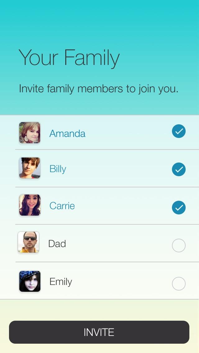 Sprint Family Locator Screenshot