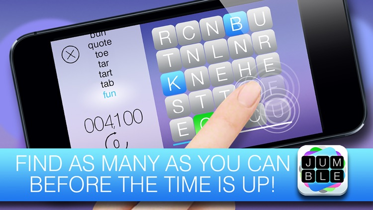 Jumble FREE - The mind boggling word search game