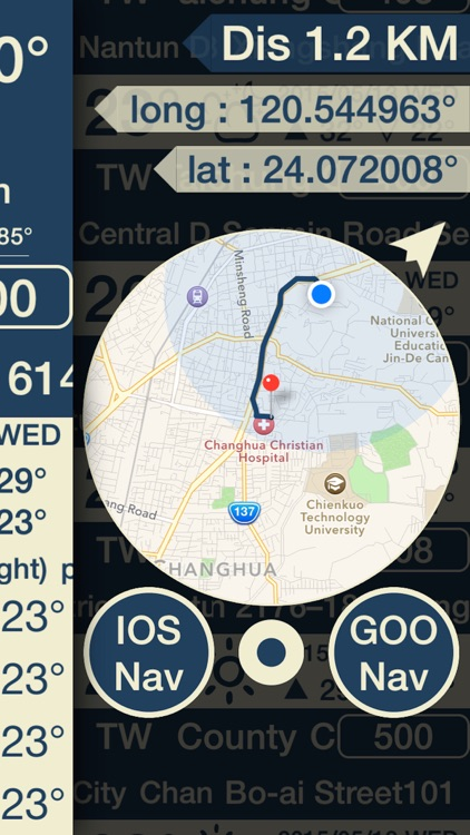 Grand Line - Record route and weather screenshot-3