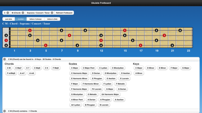 Ukulele Chords and Scales screenshot three