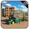 Heavy Concrete Excavator Tractor Simulator