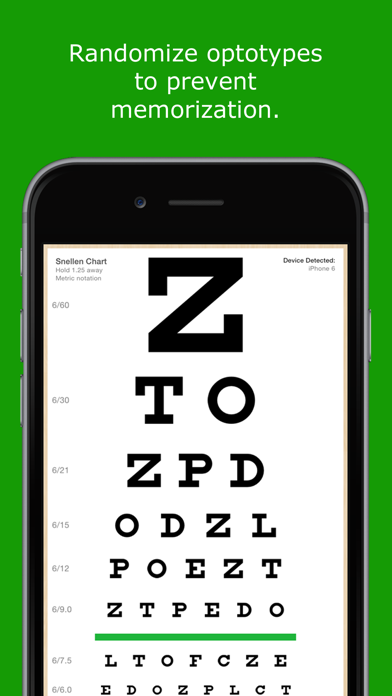 EyeChart - Vision Screening screenshot three