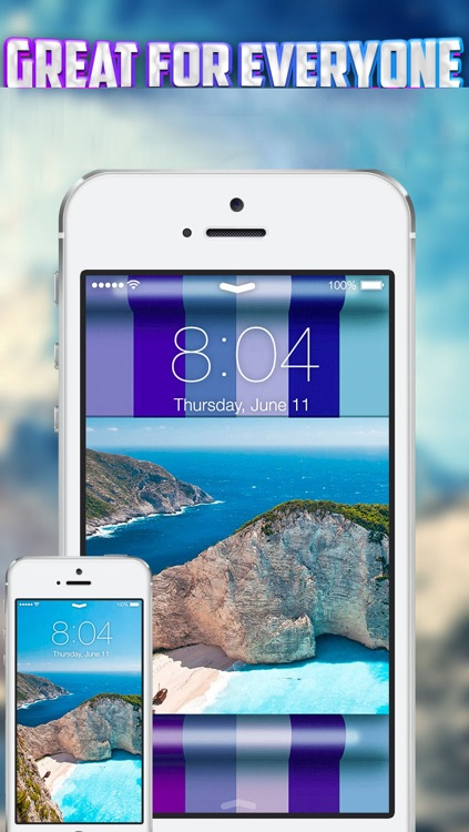 iLocks Pro - Custom Lock Screen Backgrounds Designer screenshot-3