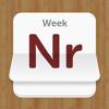 Weeknumbers Widget