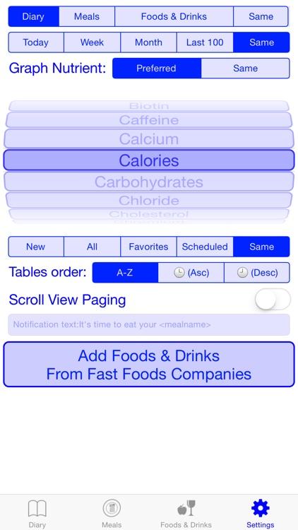 Meals Diary screenshot-4
