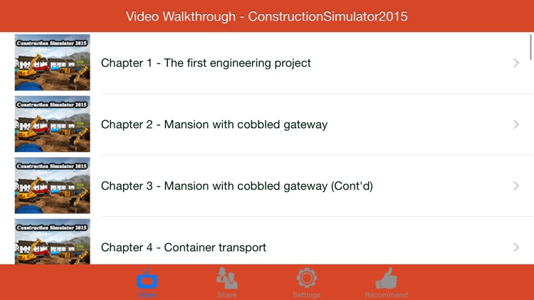 Video Walkthrough for Construction Simulator 2015 screenshot-0