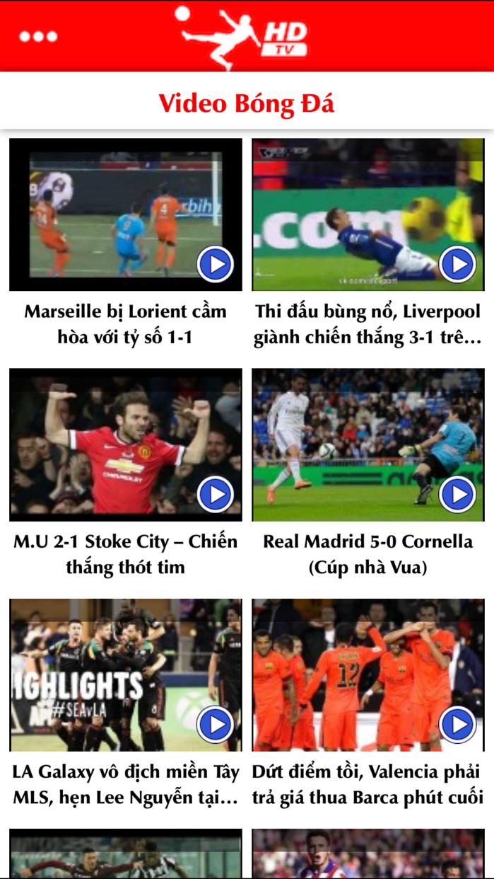 Bóng Đá TV PRO - Xem trực tiếp và đọc tin tức bóng đá Screenshot