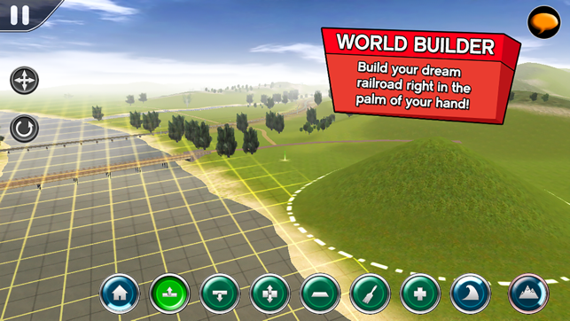 ‎Trainz Driver 2 - train driving game, realistic 3D railroad simulator plus world builder Screenshot