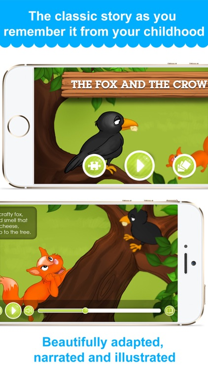 The Fox and the Crow - Narrated classic fairy tales and stories for children