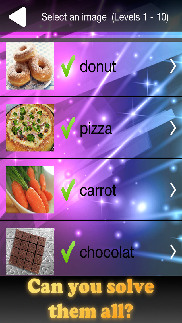Quiz Pic Food - Trivia Game Where You Guess Zoomed In Photos of Yummy Snacks screenshot three