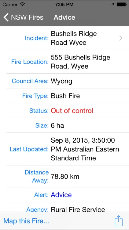 NSW Fires screenshot-2